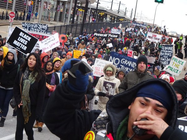 Hundreds March Miles in Frigid Temp for #Justice4Jamar