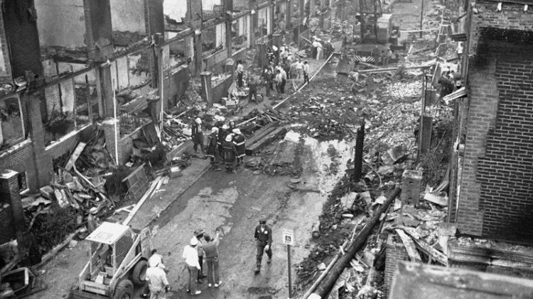 MOVE Firebombing Aftermath