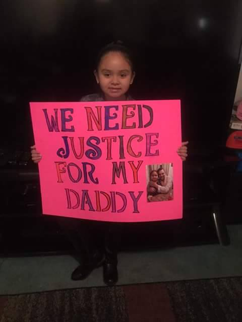 Justice for my daddy