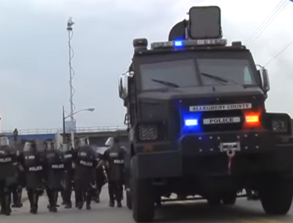 LRAD Mobile Field Force Unit at G20 Pittsburgh (2009)