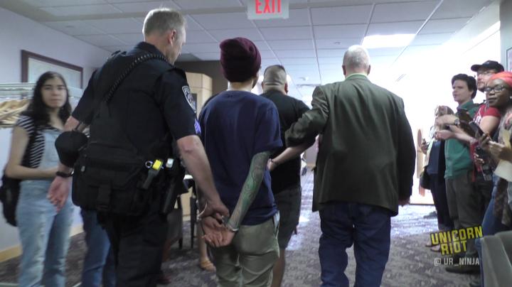 Regents Arrest 2