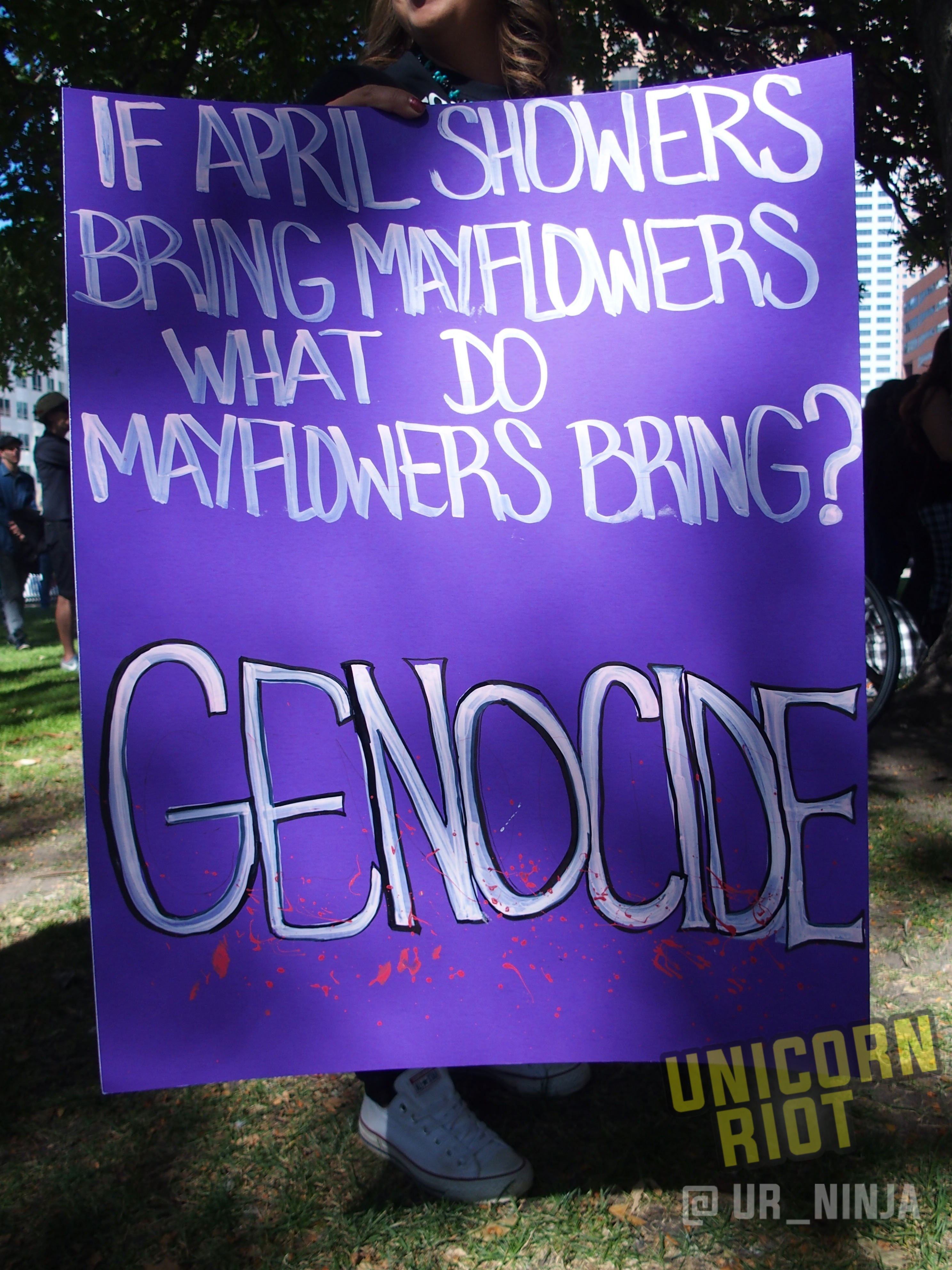 Mayflowers Bring Genocide