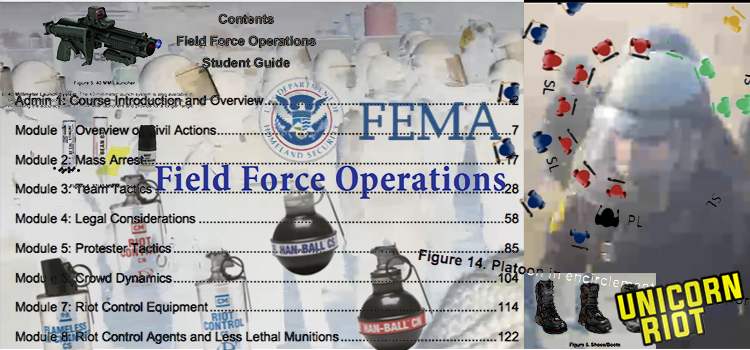 """Trump's FEMA to Train Local Police for """"Field Force"""" Crackdowns; Inauguration NSSE Nears"""
