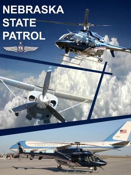 Nebraska State Patrol aircraft. Image source: Nebraska State Patrol