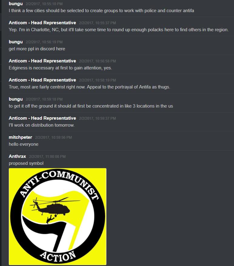 Anticom Discord Server Shows Months of Neo-Nazi Incitement - UNICORN