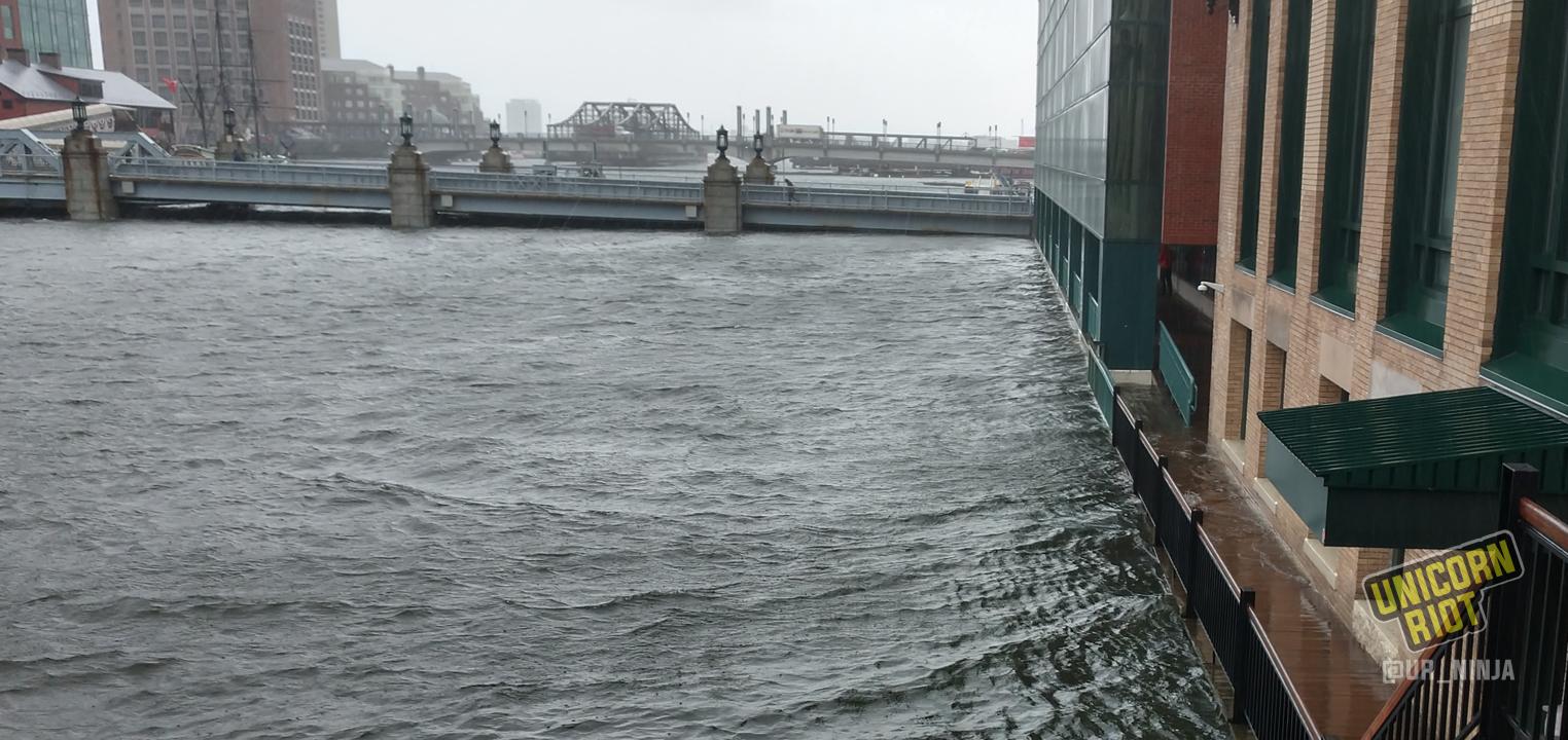 Boston Rocked By Coastal Flooding Twice In One Season ...