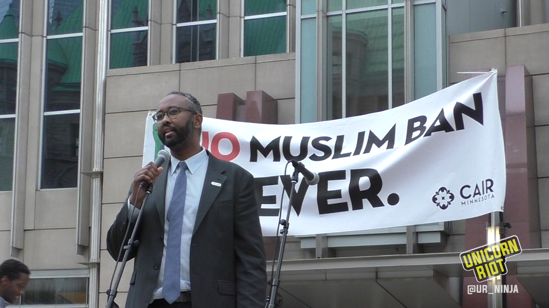 #NoMuslimBanEver Rally Speaker