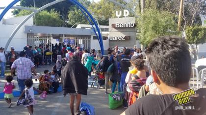 Benito Juarez Migrant center