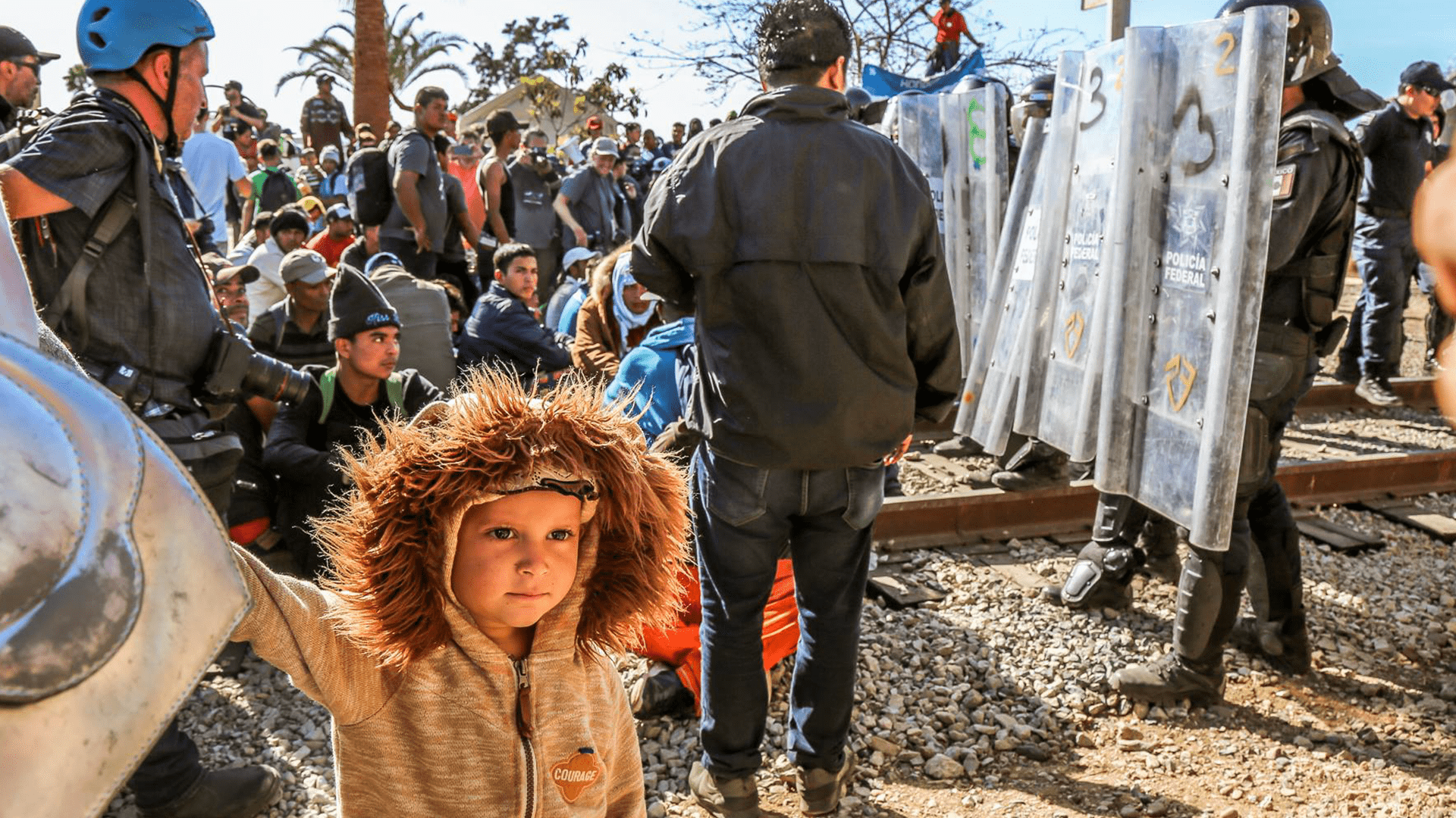 Tear Gas at Border as Asylum Seekers Attempt to Cross