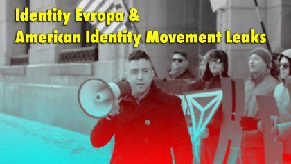 Identity Europa / American Identity Movement Leaks