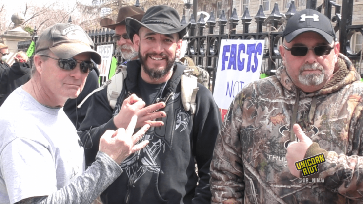 Three Percenters Militia members