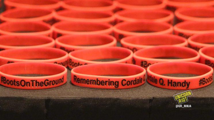 Remembering Cordale Handy bracelets