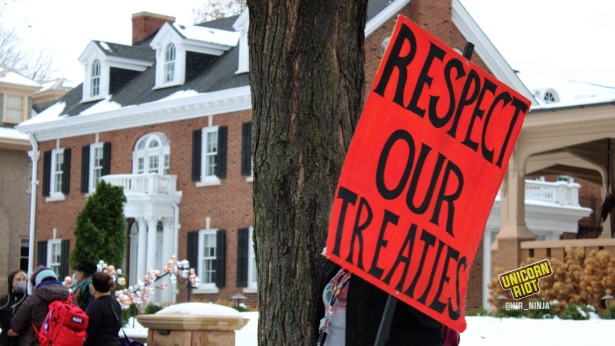 respect our treaties sign