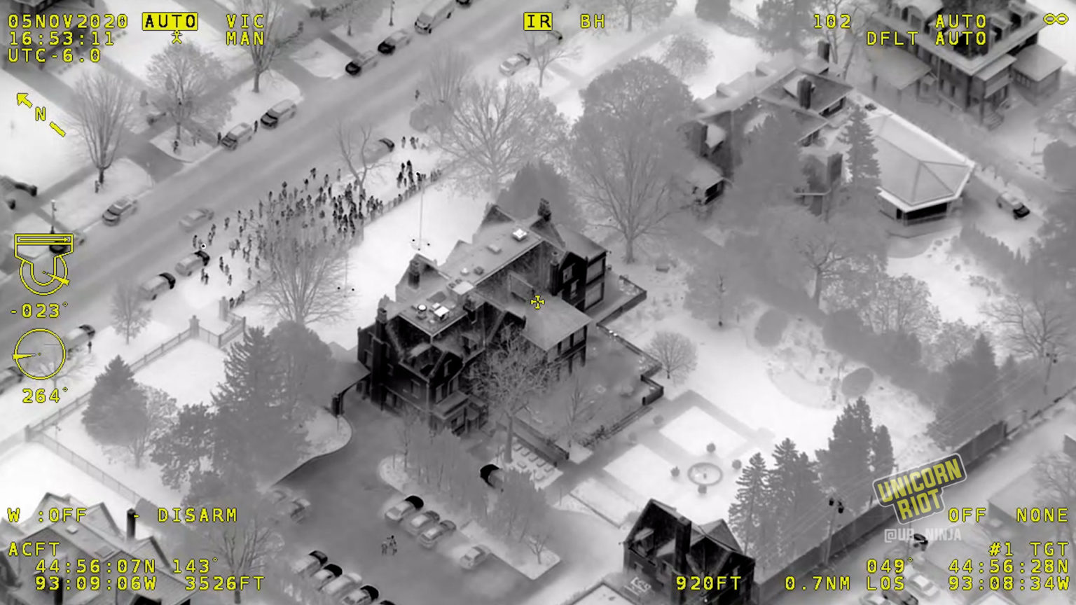 police forces use military technology to monitor dissent