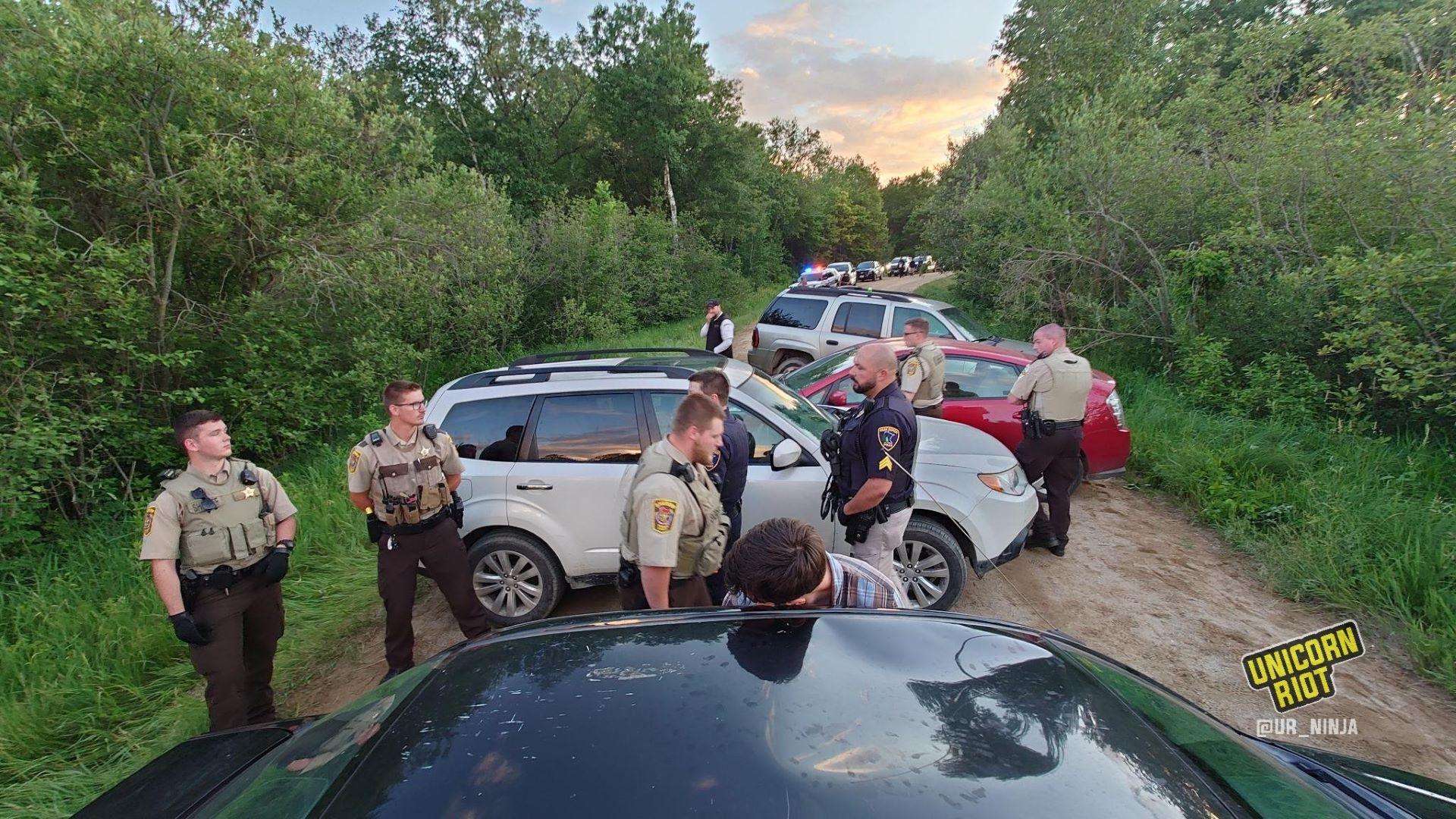 Judge Orders Sheriff to Halt Harassment of Line 3 Resistance Camp - UNICORN RIOT